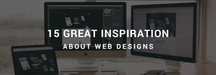 15 Great Inspiration About Web Designs