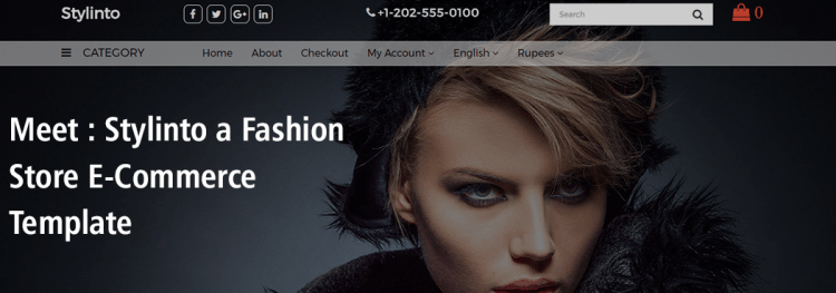 Meet : Stylinto a Fashion Store E-Commerce Template