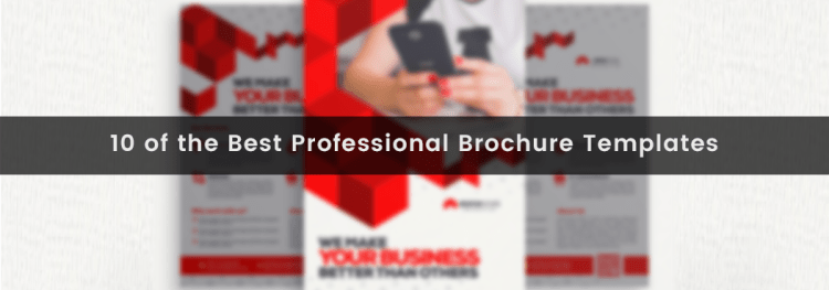 10 of the Best Professional Brochure Templates