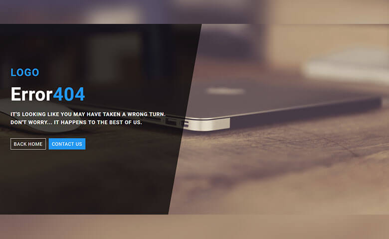 Free Smart Error 404 Page Widget Template