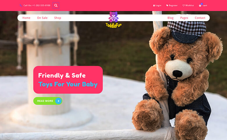 ToddleFun Website Template