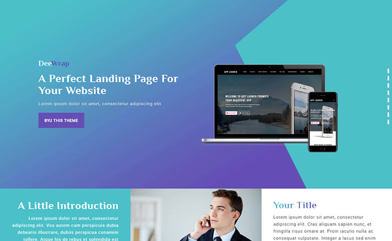DeeWrap Website Template