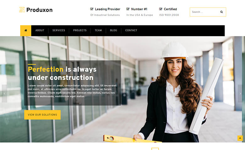 Produxon Website Template