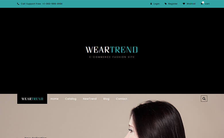 Weartrend – HTML5 Fashion Design Ecommerce Website Template