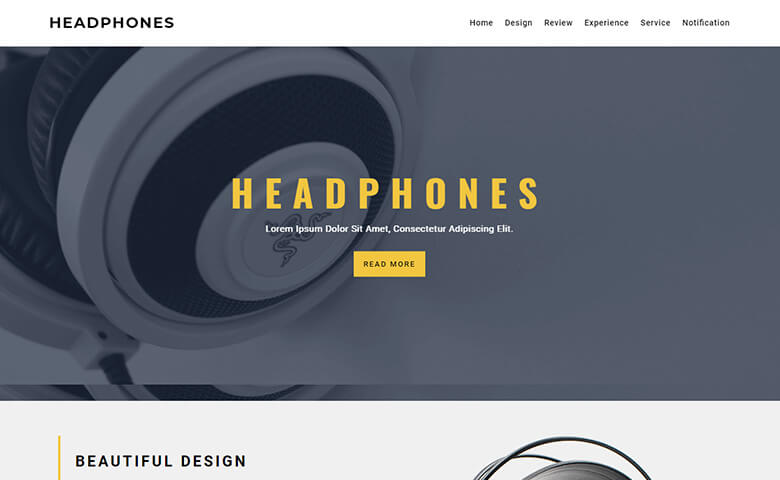 Freckle – Free HTML5 One Page Website Template