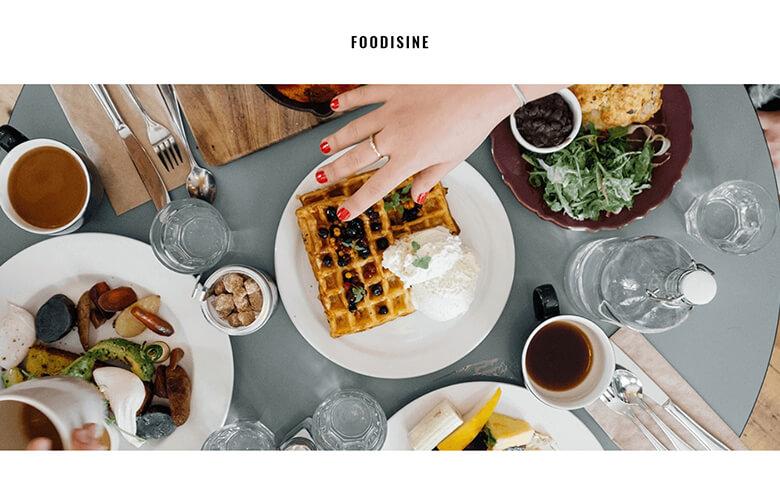 Foodisine - Responsive Newsletter Design Templates