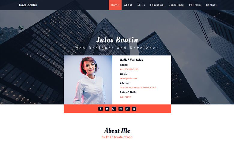 Dating template html5
