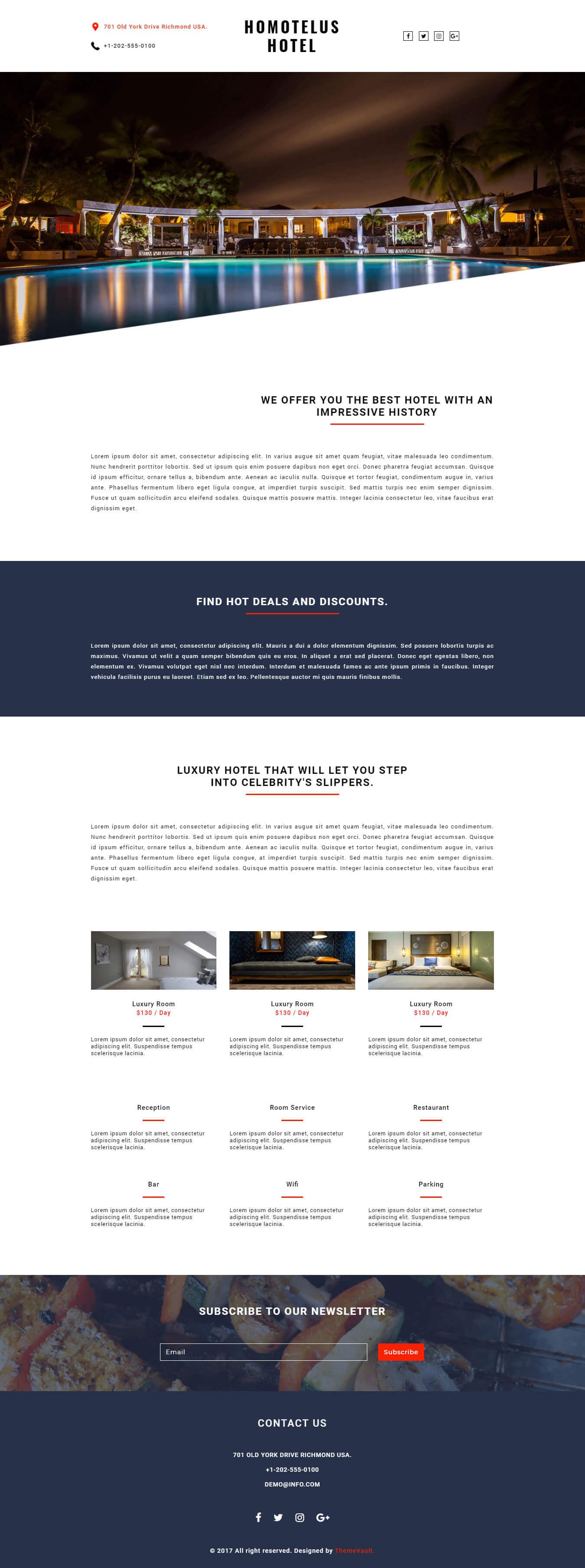 Homotelus – Responsive HTML Email Newsletter Templates