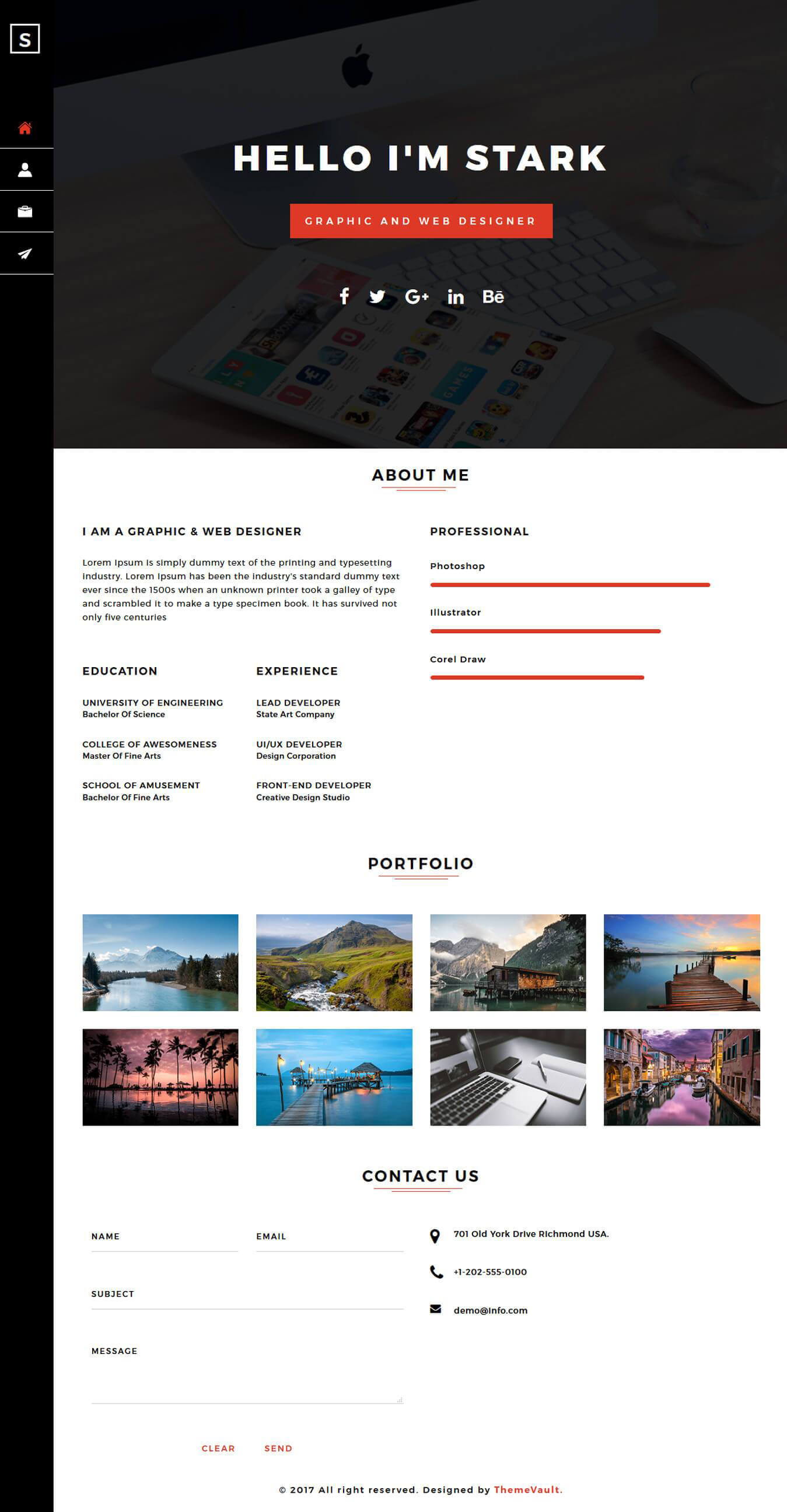 creative graphic design portfolio pdf