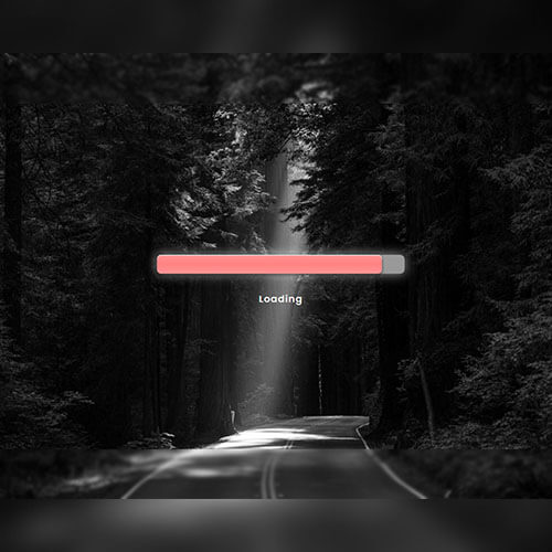 Free Sunlight Progress Bar Responsive Template