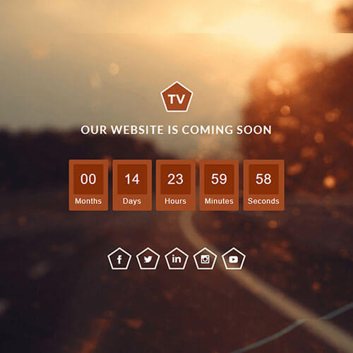 Free Launching Soon Responsive Widget Template
