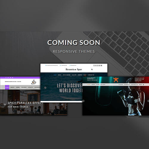 Responsive Themes Coming Soon Widget Template