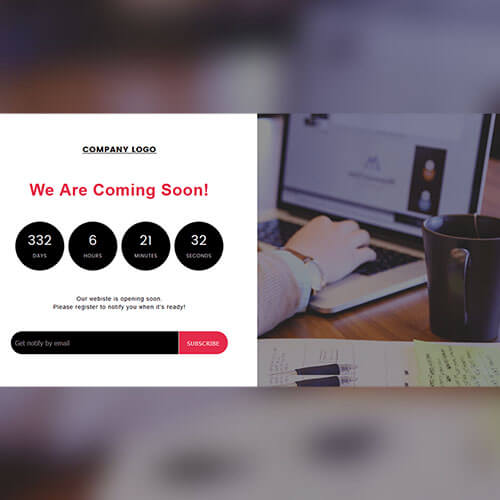 Free Progressing Countdown Widget Template