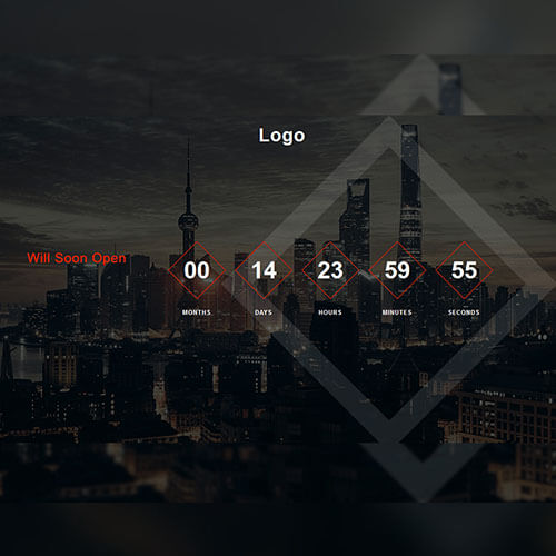 Cityview - Responsive Counter Widget Free Template