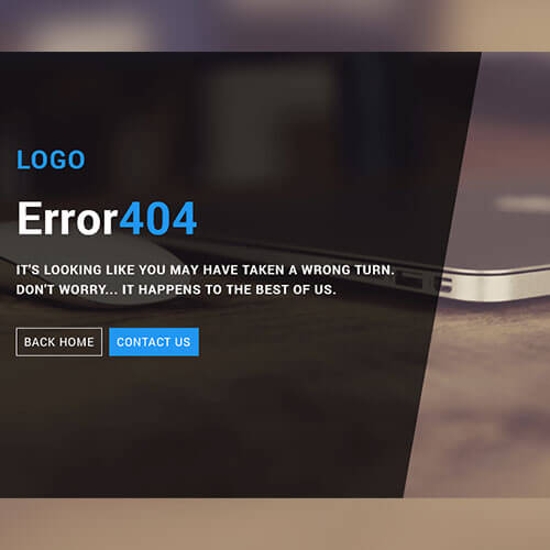 Free Smart Error 404 Page Widget Template