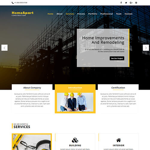 HomeApart – Real Estate Responsive Website Template