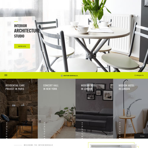Interiorvale – Responsive Interior Design Website Template