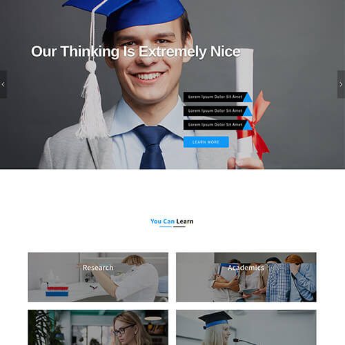 Educatunify – Responsive Educational Website Design Templates