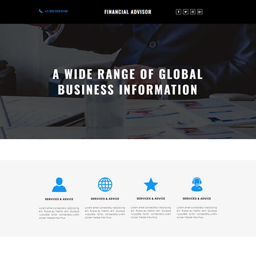 Dcovery- Free One Page Responsive HTML Website Template
