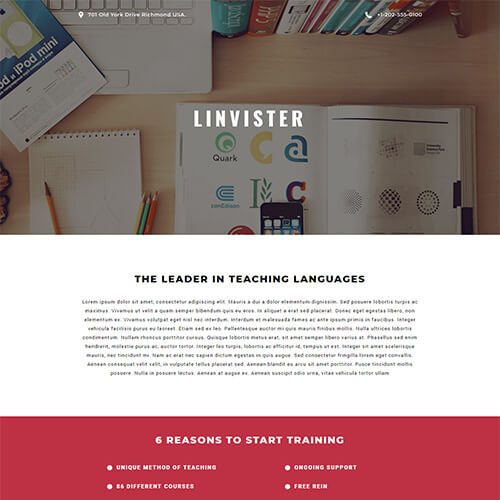 Linvister – Free Online Newsletter Templates
