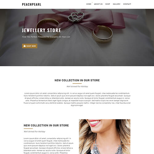 Peachpearl – Best HTML5 Email Newsletter Templates